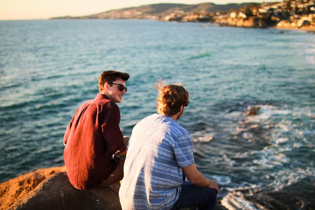 chłopcy przyjaciele