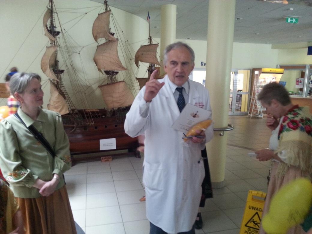 prof. Zembala opowiada legendę statku Batavia