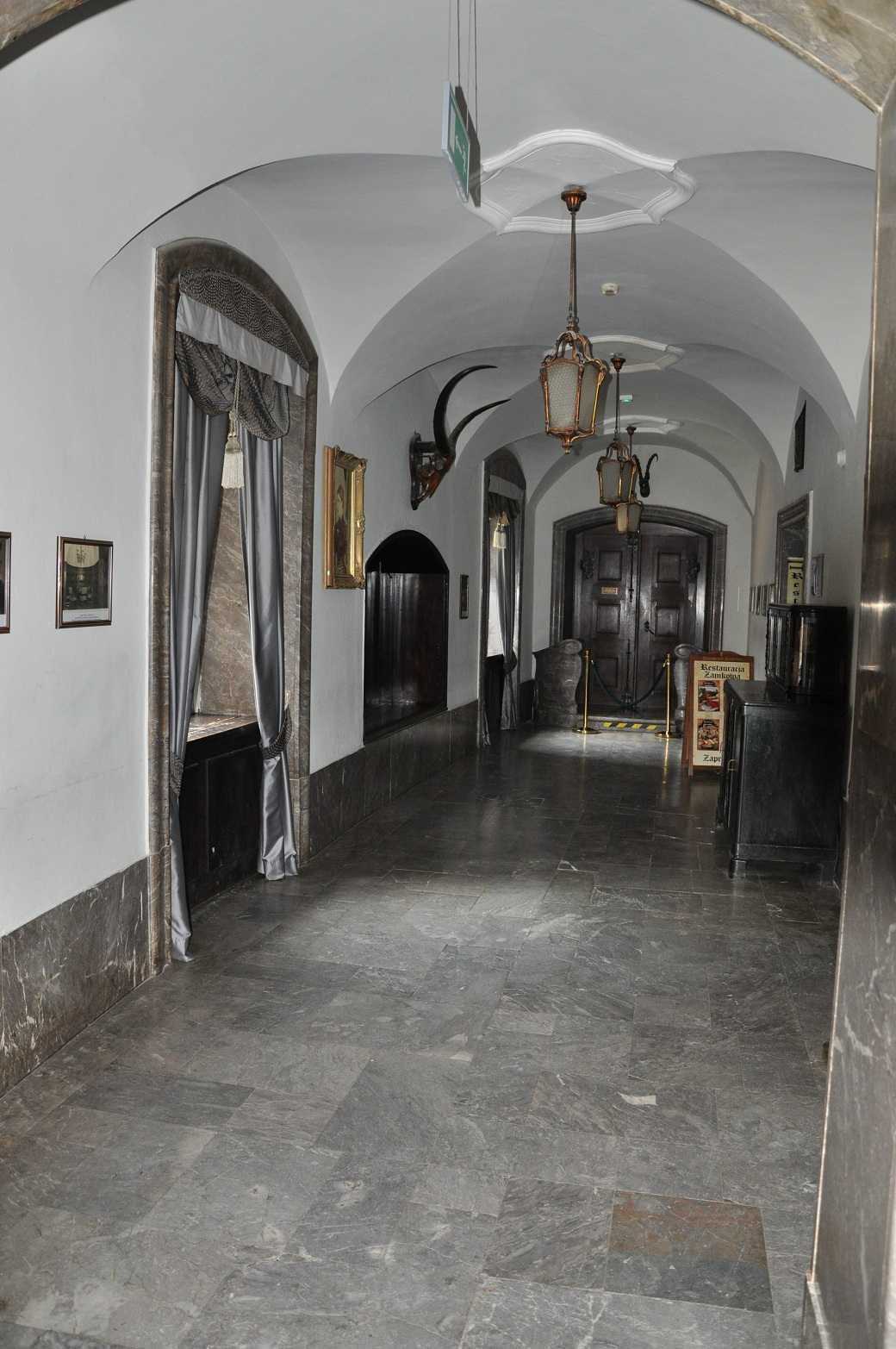 zamek czocha wnętrze