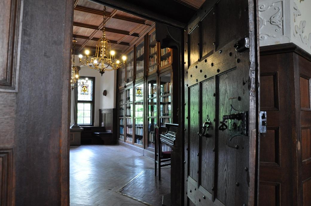 biblioteka zamku czocha