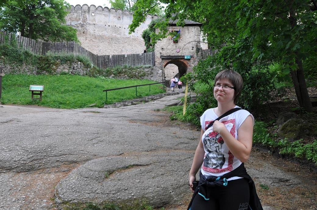 doczołgałam się zamek chojnik