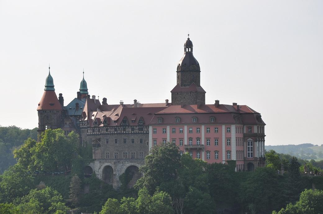 zamek książ taras widokowy