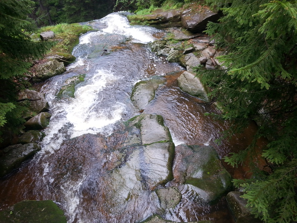wodospad kamieńczyka szczyt