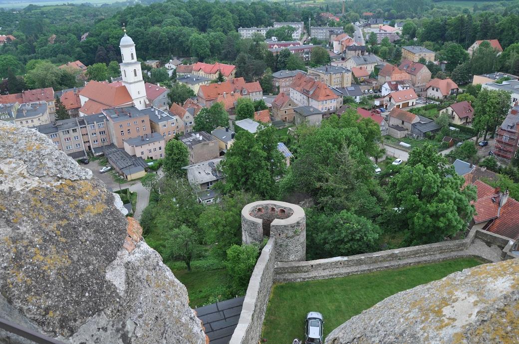 panorama zamek bolków