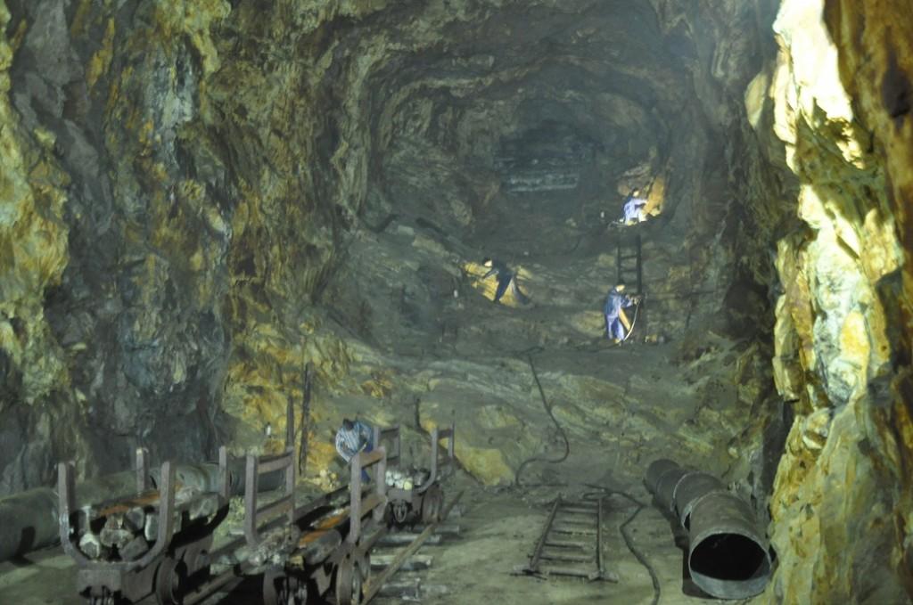rzeczka górnicy kompleks riese