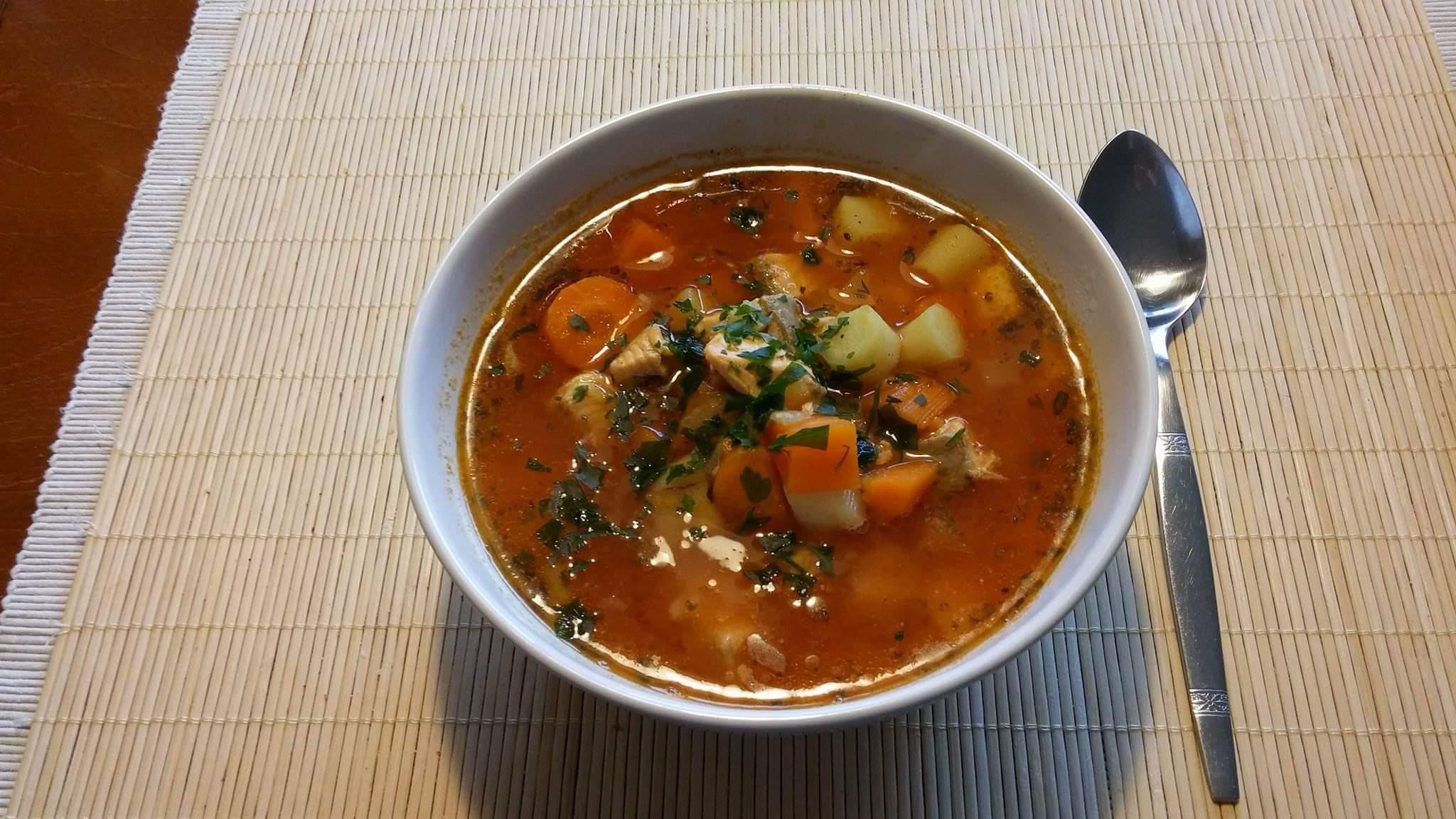 Zupa rybna wujka Zbyszka